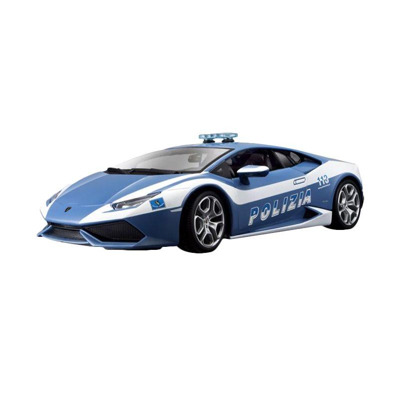 Bburago Plus Lamborghini Huracan LP 610-4 Blue Diecast [1:18]