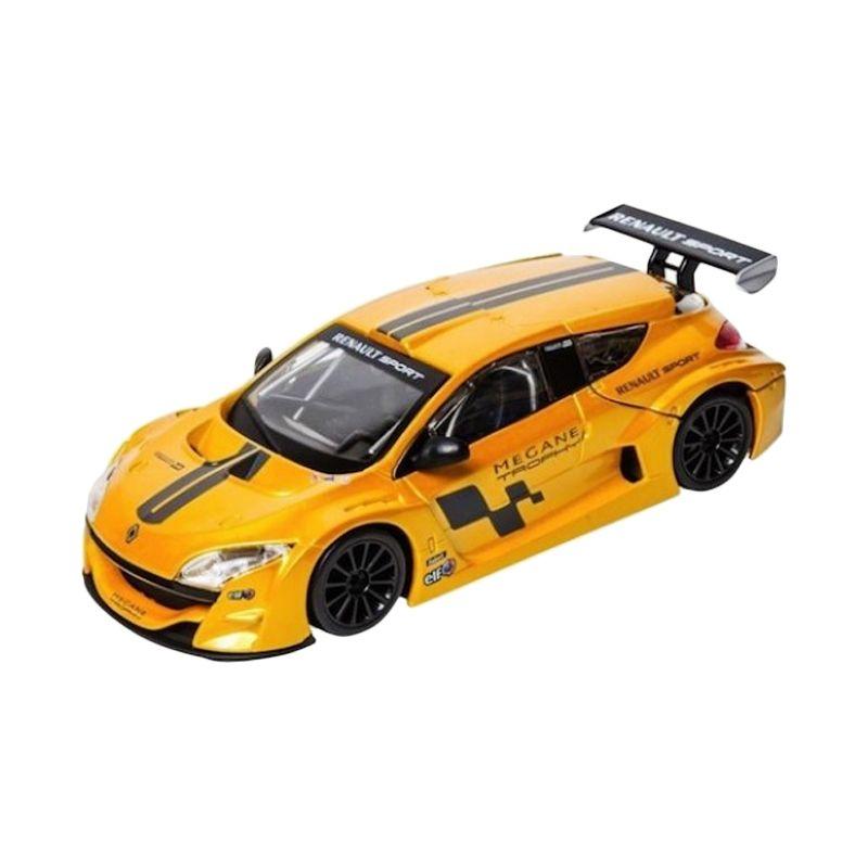 Bburago Renault Megane Trophy Yellow Diecast [1:24]