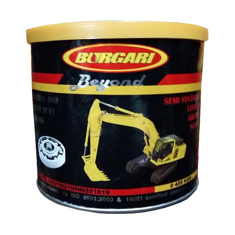 Burgari Beyond Bearing Grease [455 Gram] - Gemuk Semi Synthetic - Stempet  Bearing Roda Serbaguna - Anti Oksidasi & Hi-Temp Grease