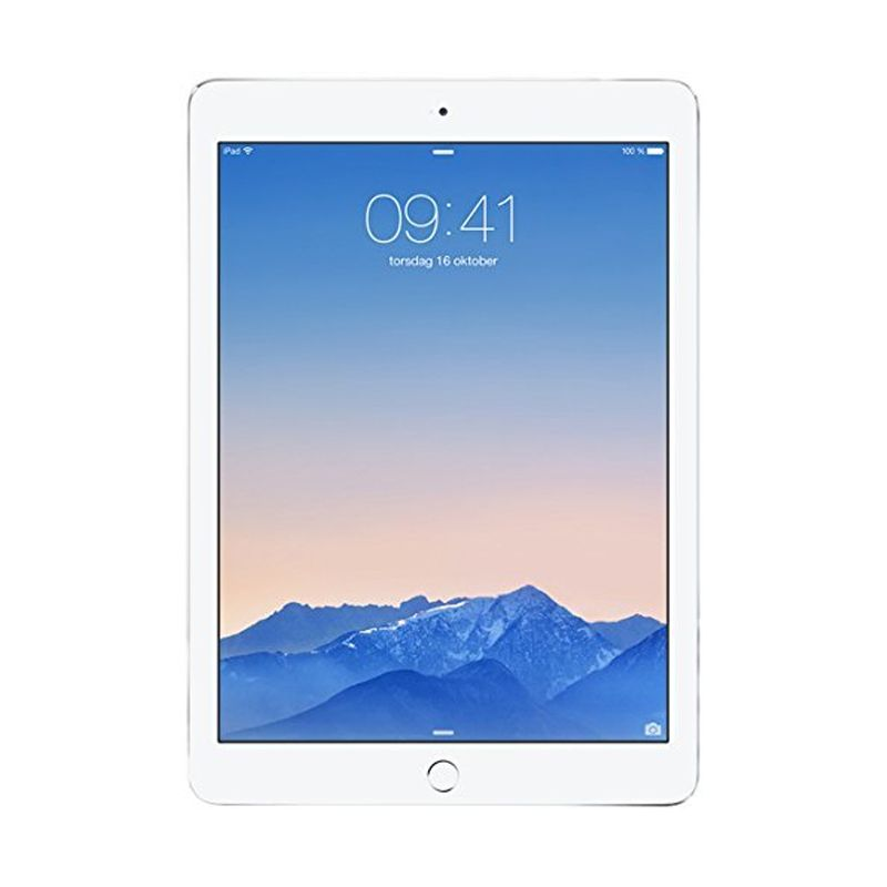 Apple iPad Air 2 16 GB Wi-Fi and Cellular Silver Tablet