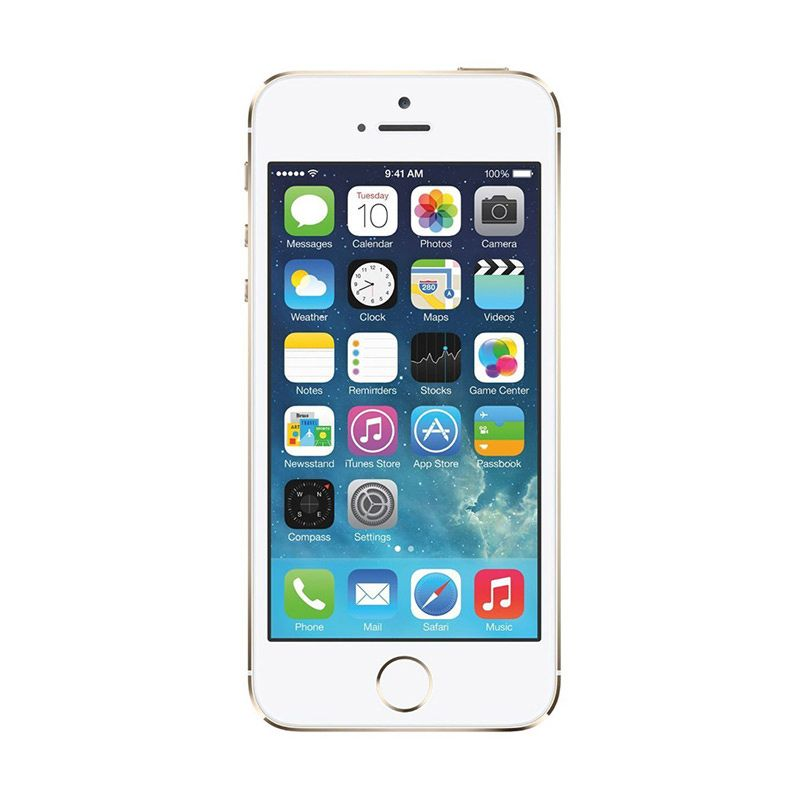 Diskon Apple iPhone 5S 16 GB Gold Smartphone [Refurbish]