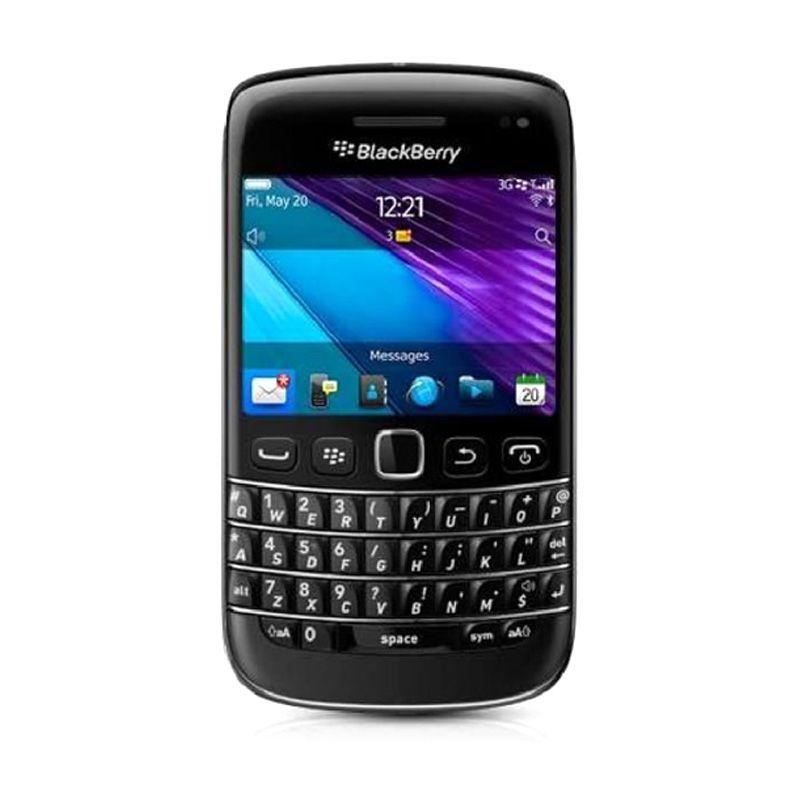 Blackberry Bellagio 9790 Hitam Smartphone