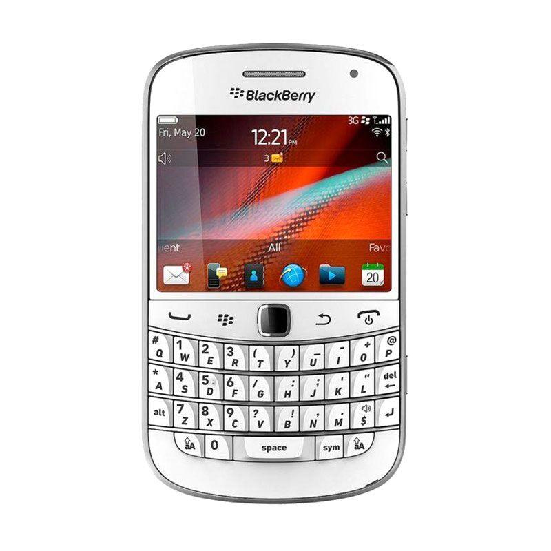 Blackberry Bold Dakota 9900 Putih Smartphone
