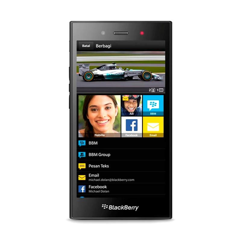 BlackBerry Z3 Hitam Smartphone