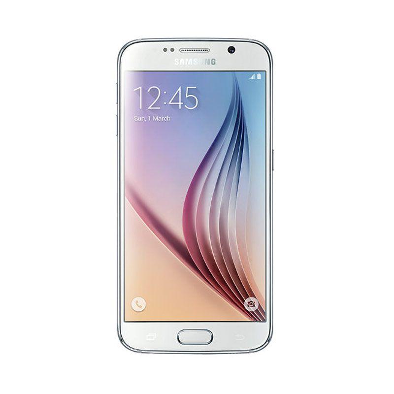 Samsung Galaxy S6 Putih Smartphone [32 GB]
