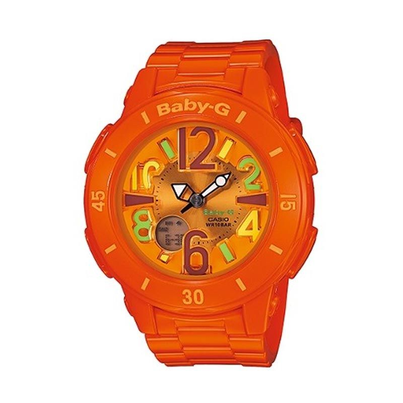 Casio Baby-G BGA-171-4B2DR Orange Jam Tangan Wanita