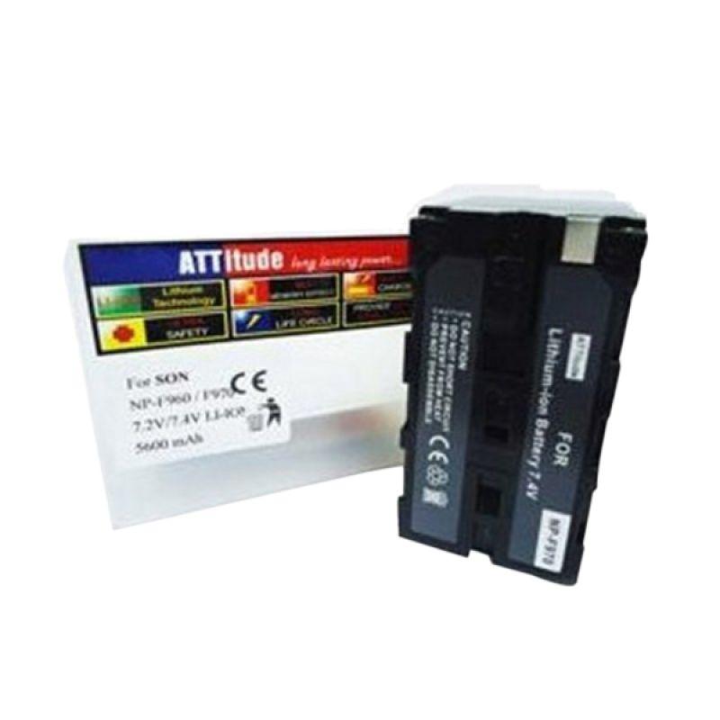 ATT-NP F 960/F 970 Hitam Baterai Kamera