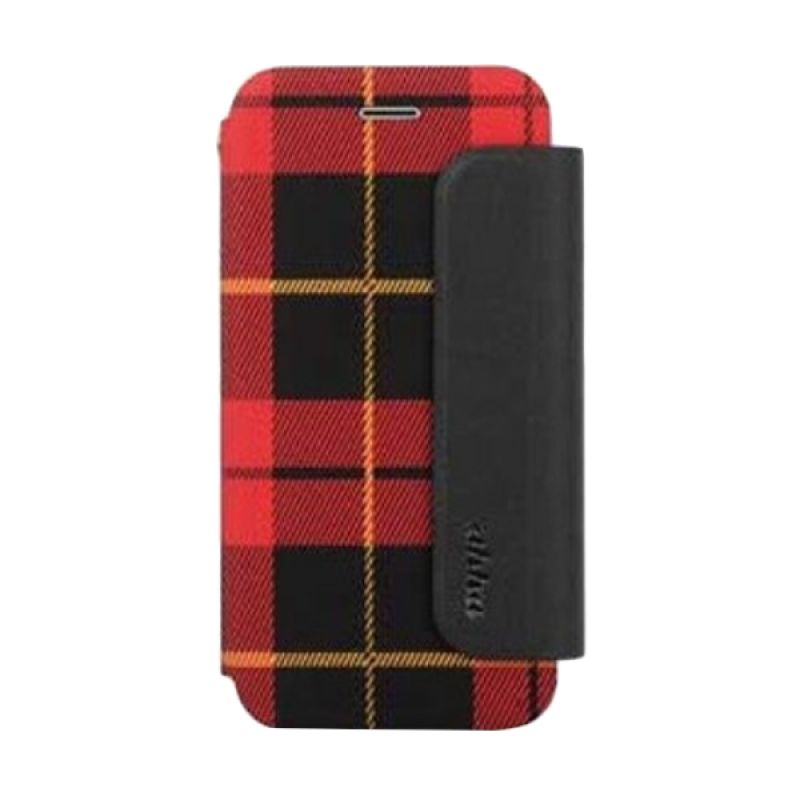 Ahha Conran Fashion Red Flip Casing for iPhone 6 Plus