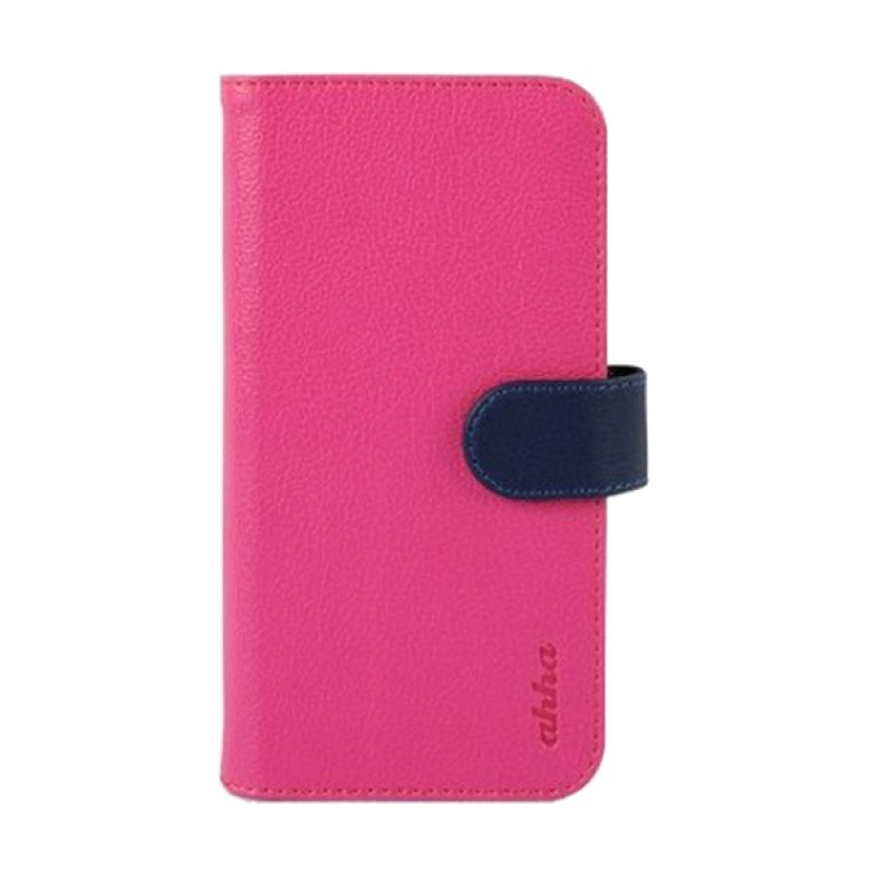 Ahha Mckay Wallet Pink Casing for iPhone 6 Plus