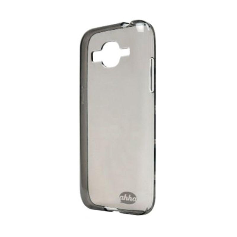 Ahha Moya Black Transparant Casing for Samsung Galaxy Core Prime