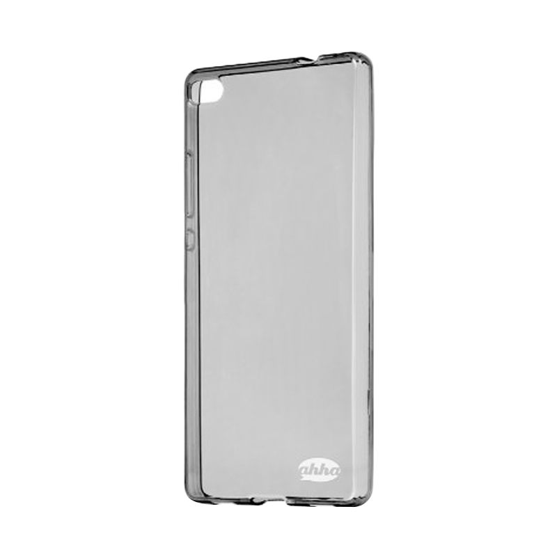 Ahha Moya Gummishell Black Transparant Casing for Huawei P8