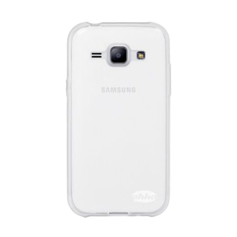 Ahha Moya Gummishell Clear Casing for Samsung Galaxy J1