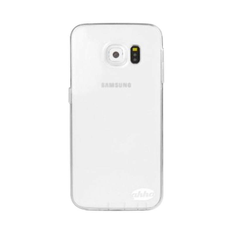 Ahha Moya Gummishell Clear Casing for Samsung Galaxy S6 Edge
