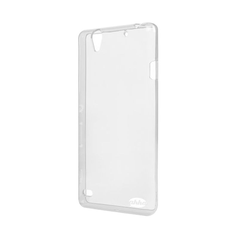 Ahha Moya Gummishell Clear Casing for Sony Xperia C4 Dual