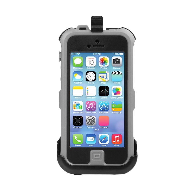 Ahha Ricco Weatherproof Grey Casing for iPhone 5 or 5S