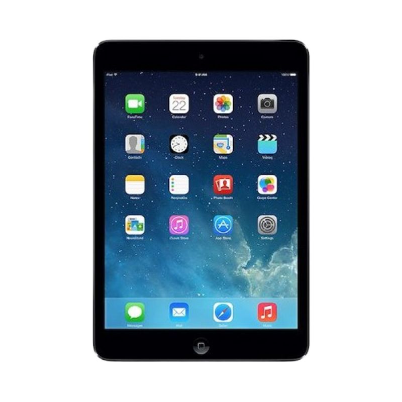 Apple iPad Mini Hitam Tablet [WiFi/Cellular/16 GB]
