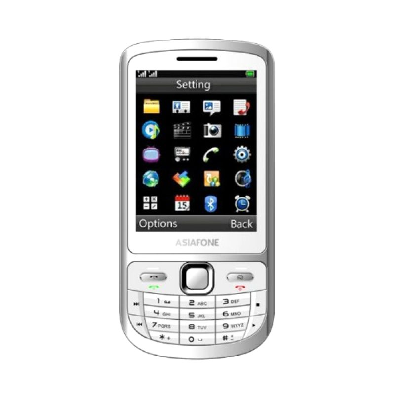 Asiafone AF 991 Candy Putih Handphone