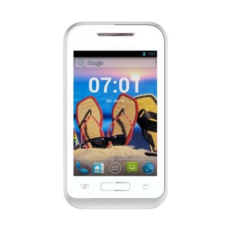 Asiafone Asiadroid AF77 Putih Smartphone