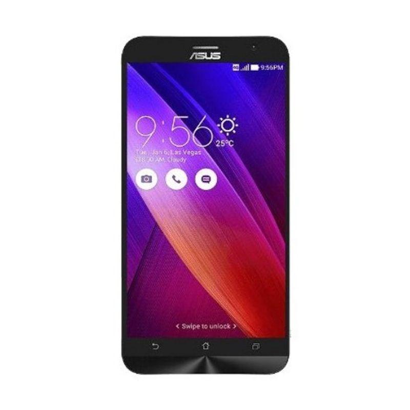 Asus Zenfone 2 ZE550ML Hitam Smartphone [RAM 2 GB/16 GB]