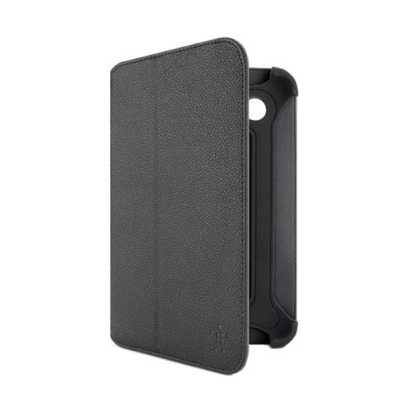 Belkin Folio Bi-Fold Hitam Casing for Galaxy Tab 2 [7.0 Inch]