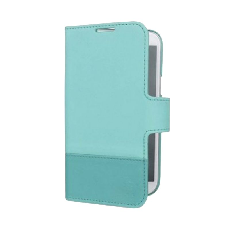 Belkin Wallet Folio Biru Casing for Samsung Galaxy Note II