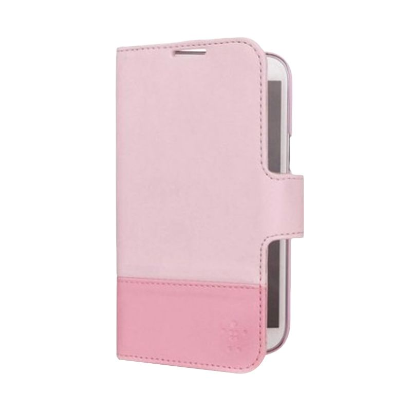 Belkin Wallet Folio Pink Casing for Samsung Galaxy Note II