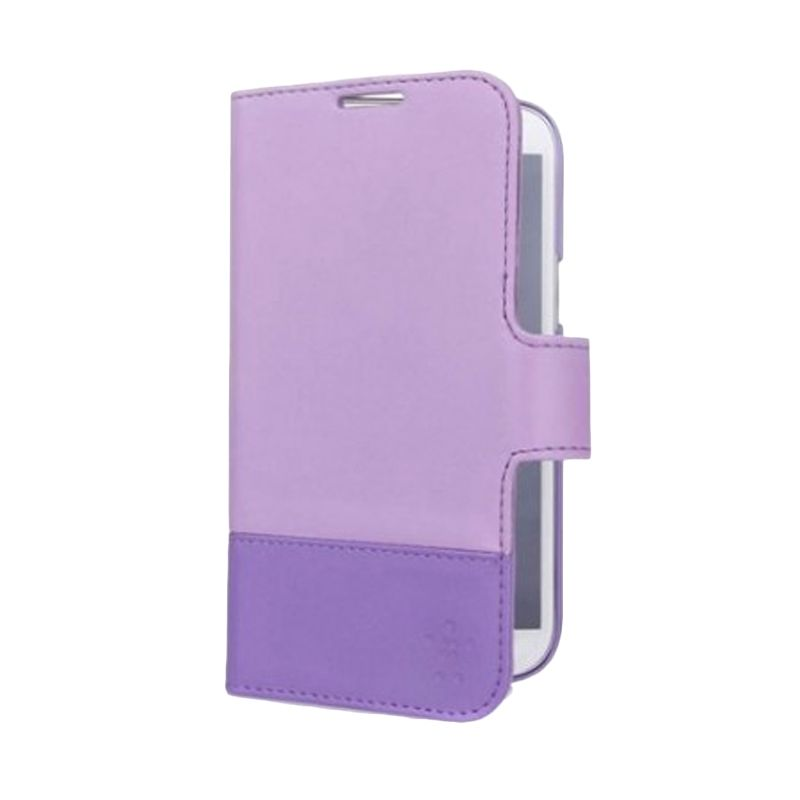 Belkin Wallet Folio Ungu Casing for Samsung Galaxy Note II