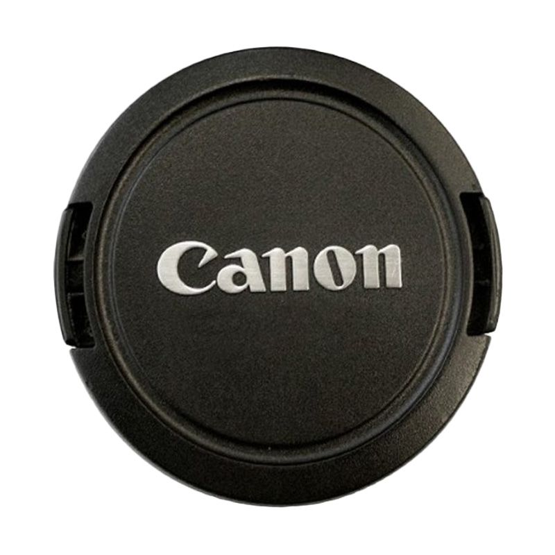 Optic Pro for Canon 72mm Hitam Lens Caps