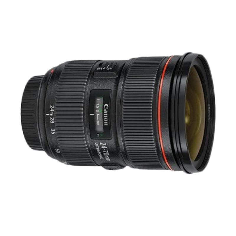 Canon EF 24-70mm f/2.8L II USM Lensa Kamera