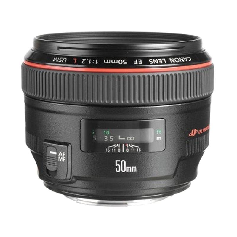 Canon EF 50mm f/1.2L USM Lensa Kamera