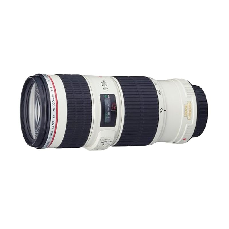 Canon EF 70-200mm f/4L IS USM Lensa Kamera