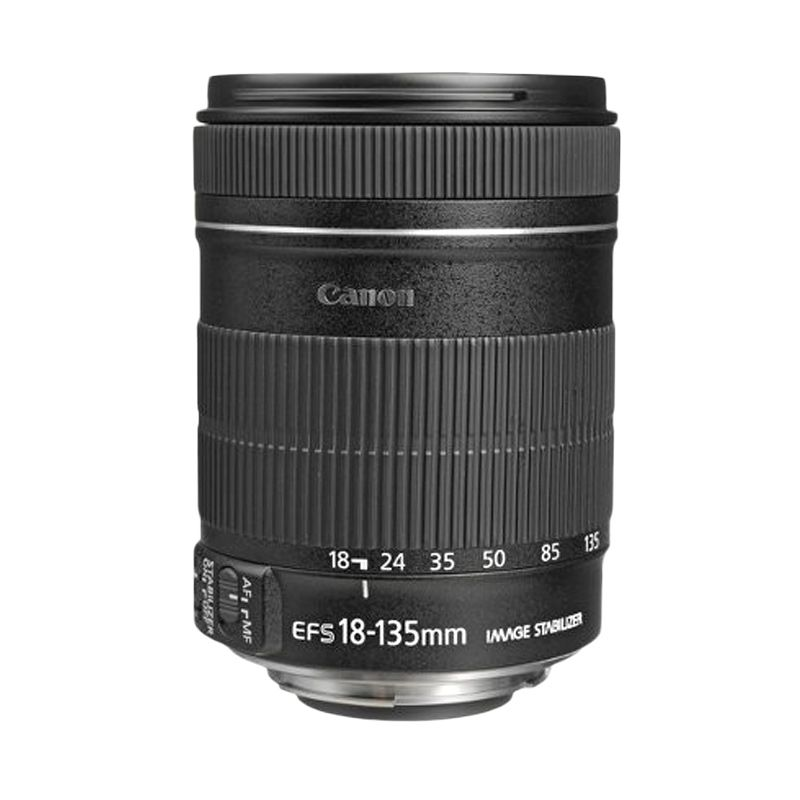 Canon EF-S 18-135mm f/3.5-5.6 IS Lensa Kamera
