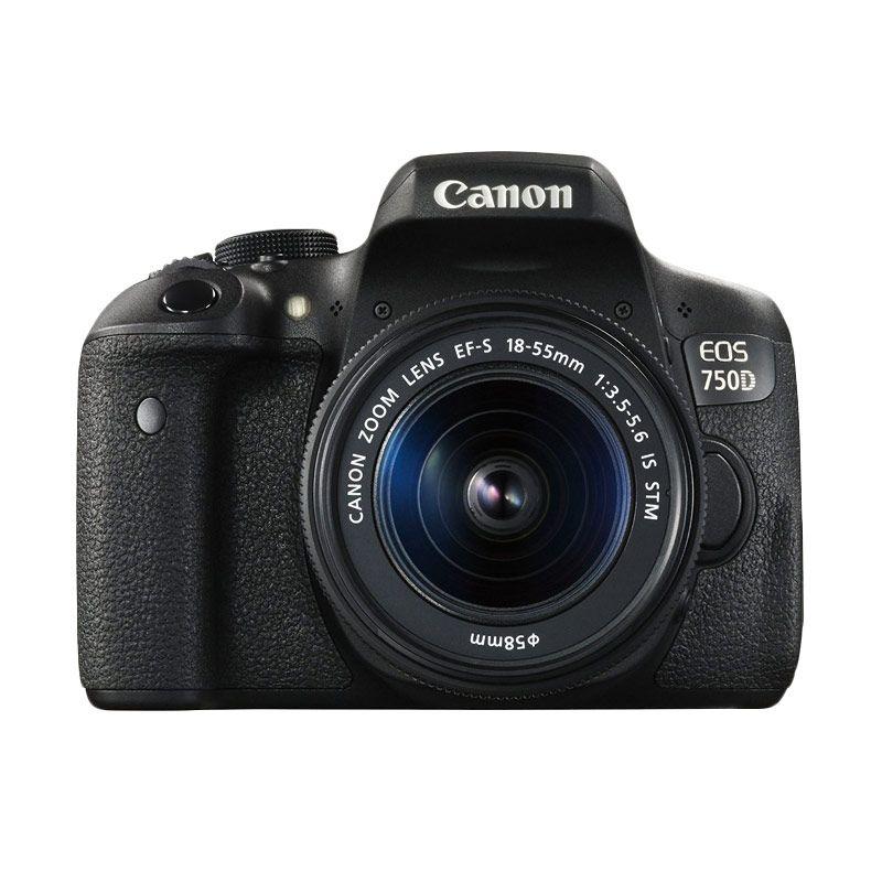 Canon EOS 750D 18-55mm Kamera DSLR