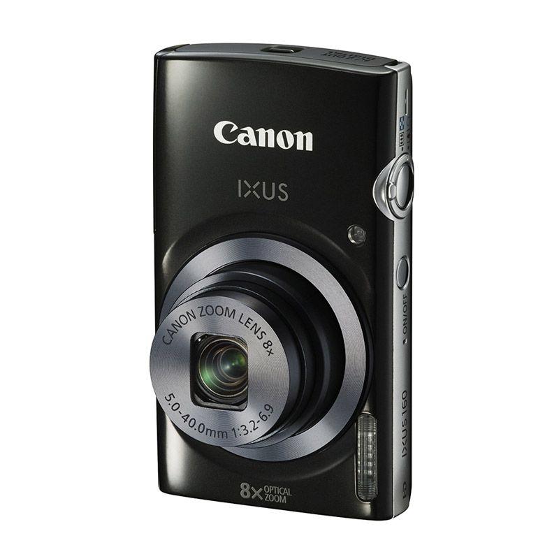 Canon IXUS 160 Hitam Kamera Pocket