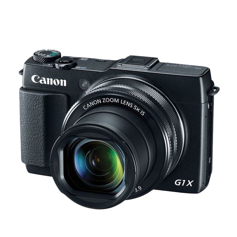 Canon PowerShot G1X Mark II Hitam Kamera Pocket