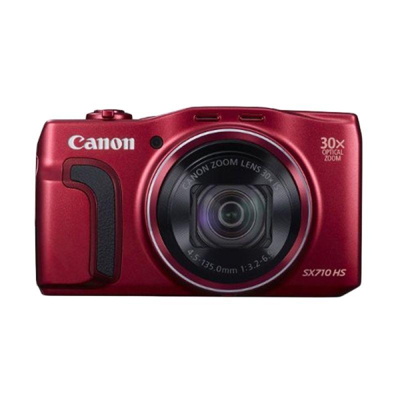 Canon PowerShot SX710 HS Merah Kamera Pocket