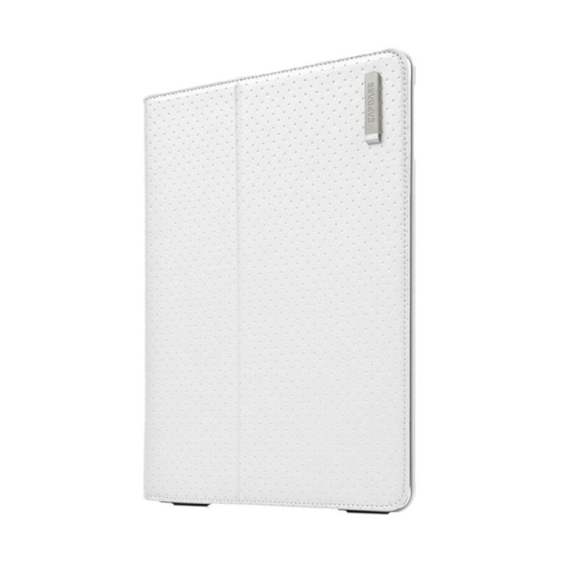 Capdase Folder Case Folio Dot Putih Casing for iPad Mini