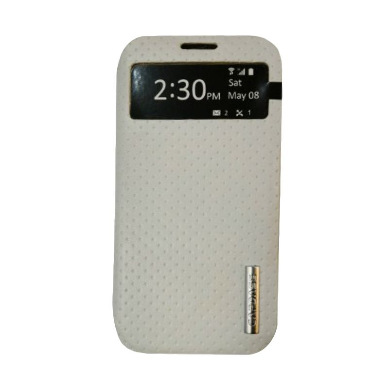 Capdase Folder Case Sider ID White Casing for Samsung Galaxy S4