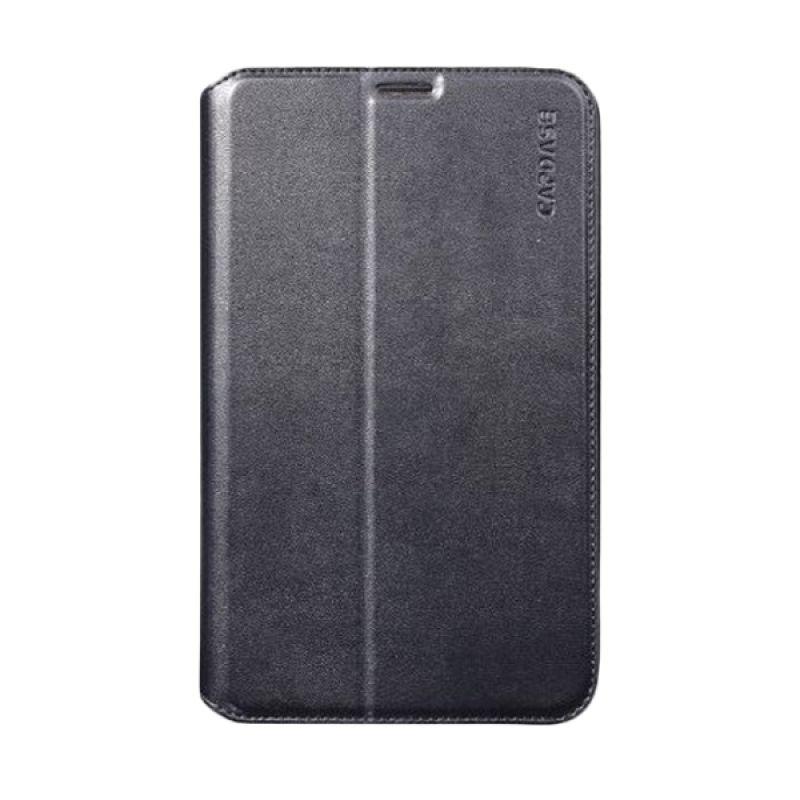 Capdase Folder Flip Jacket Hitam Casing for Galaxy Tab 3 [7.0 Inch]