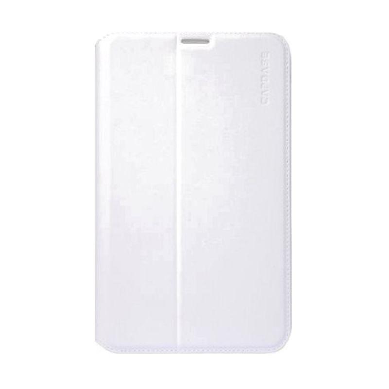 Capdase Folder Flip Jacket Putih Casing for Galaxy Tab 3 [7.0 Inch]