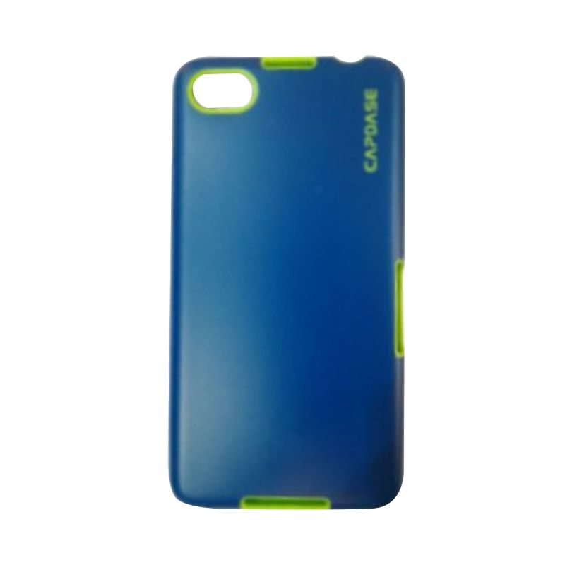 Capdase Soft Jacket Blue green Casing for Blackberry 9720