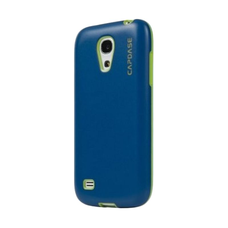 Capdase Soft Jacket Vika Biru Hijau Casing for Galaxy S4 Mini