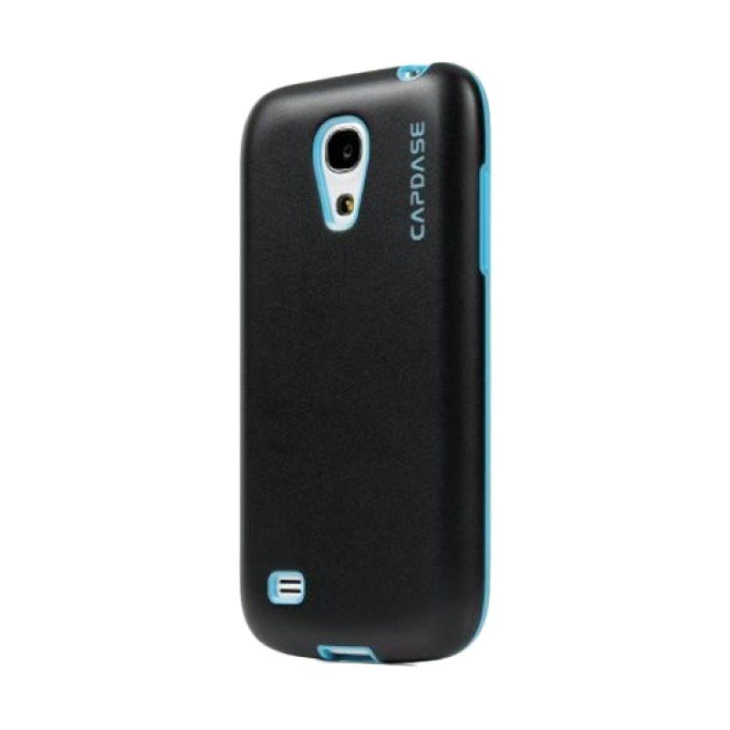 Capdase Soft Jacket Vika Hitam Biru Casing for Galaxy S4 Mini