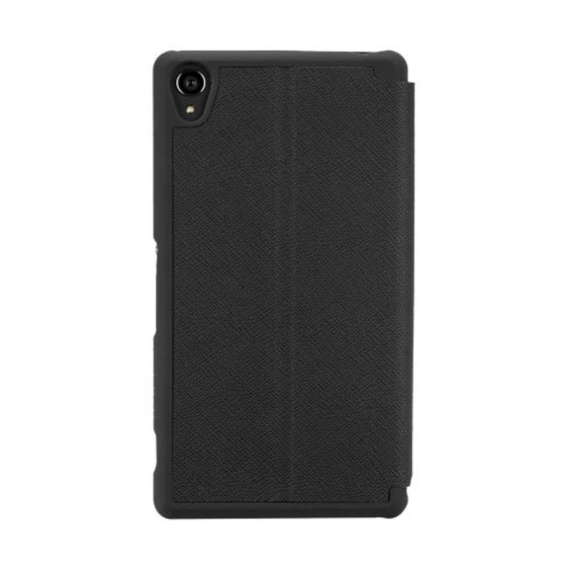 CaseMate Stand Folio Black Casing for Xperia Z3