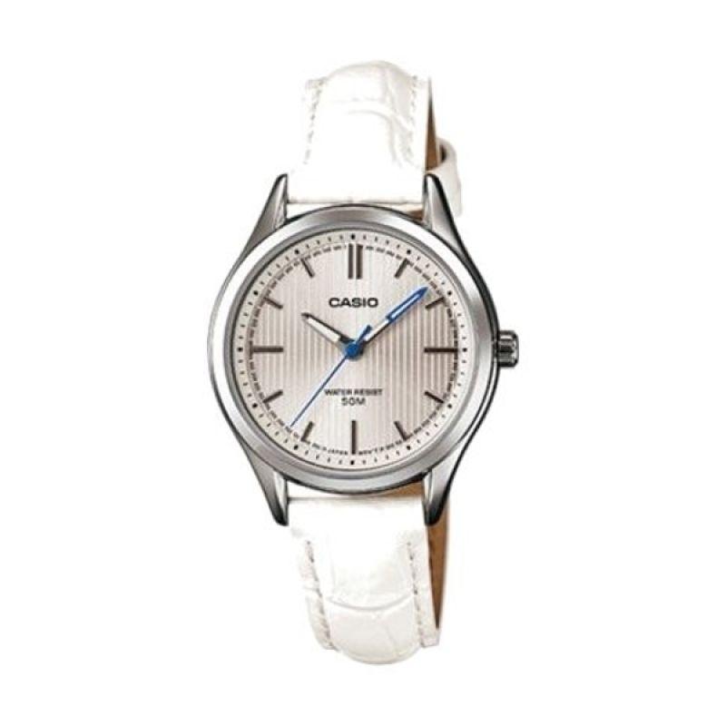 Casio Analog LTP-E104L-7AVDF Putih Jam Tangan Wanita