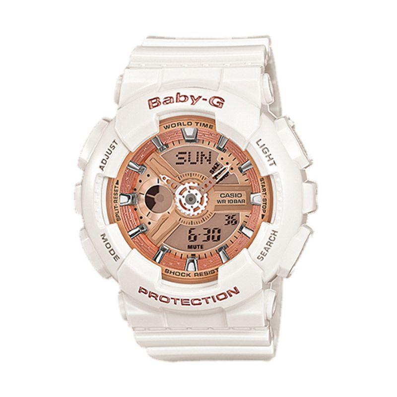 Casio Baby G BA-110-7A1DR Putih Jam Tangan Wanita