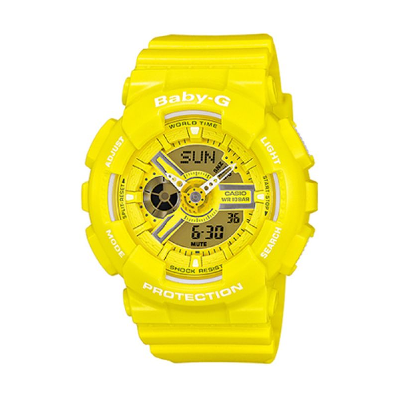 Casio Baby-G BA-110BC-9ADR Kuning Jam Tangan Wanita