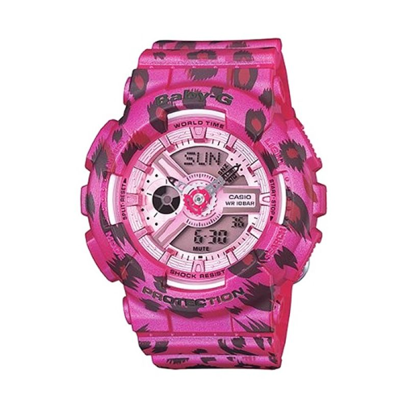 Casio Baby G BA-110LP-4ADR Pink Jam Tangan Wanita