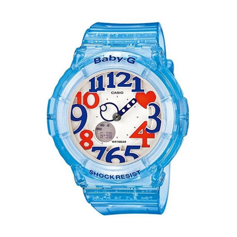 Casio Baby G BGA-131-2BDR Biru Jam Tangan Wanita