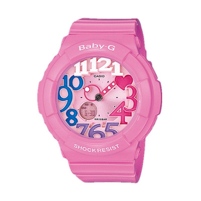 Casio Baby G BGA-131-4B3DR Pink Muda Jam Tangan Wanita